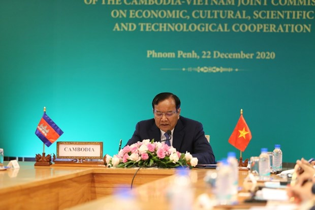 Vietnam, Cambodia work to further promote comprehensive cooperation hinh anh 2