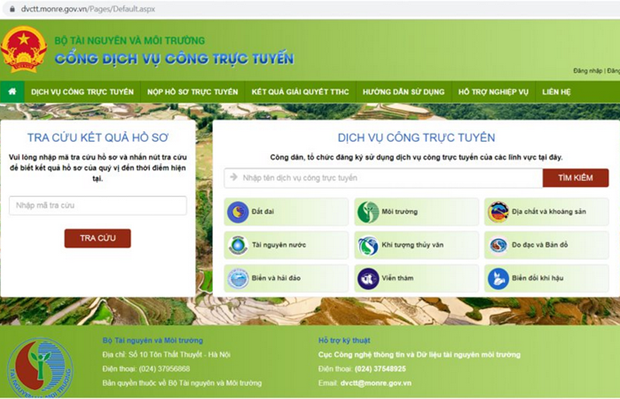 Project aims to complete natural resources, environment database