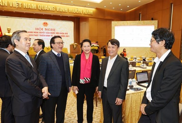 Vietnam among 10 nations with highest GDP growth in 2020: Top leader hinh anh 3