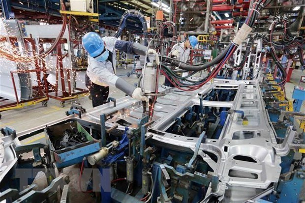 Trade surplus posts record high since 2016 hinh anh 1