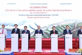 Long Thanh airport plays part in making Vietnam stronger: PM