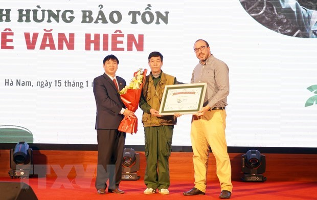Vietnam has second Disney Conservation Hero