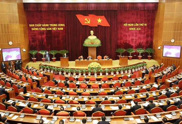 Party Central Committee's 15th plenum focuses on personnel work hinh anh 3