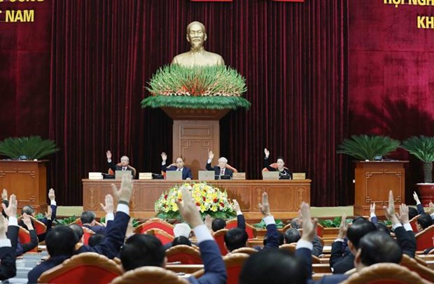 Party Central Committee's 15th plenum focuses on personnel work hinh anh 2