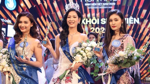 Nam Can Tho University student crowned Vietnam Miss University hinh anh 1