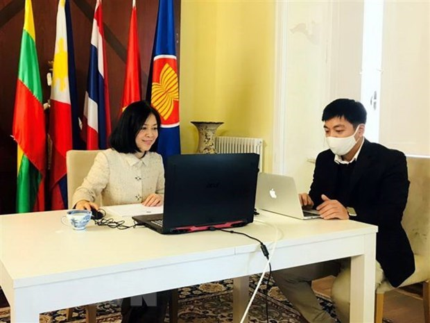 Vietnam wraps up chairmanship of ASEAN Committee in Italy hinh anh 1