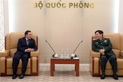 Minister vows support for Lao ambassador to promote defence ties