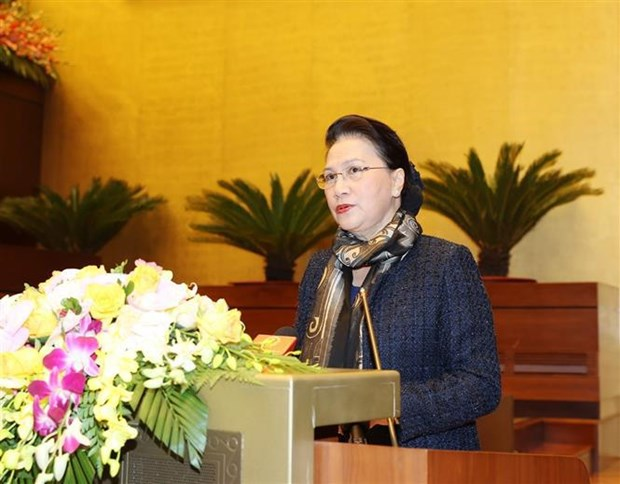 General election - A chance to exercise people's right to mastery: Top leader hinh anh 4