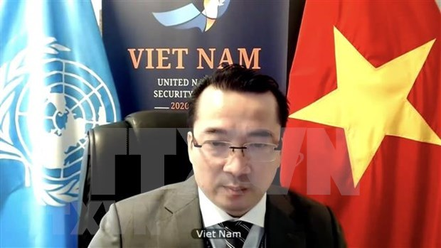 Vietnam calls for unity of int'l community in supporting Syria hinh anh 1