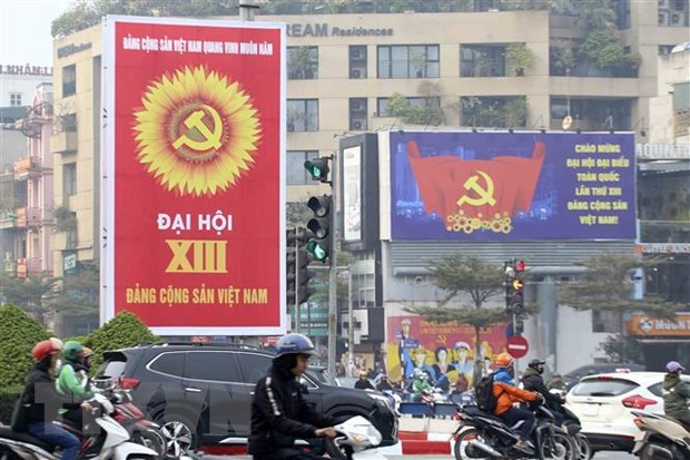 Lao ambassador hails leadership role of Communist Party of Vietnam hinh anh 3