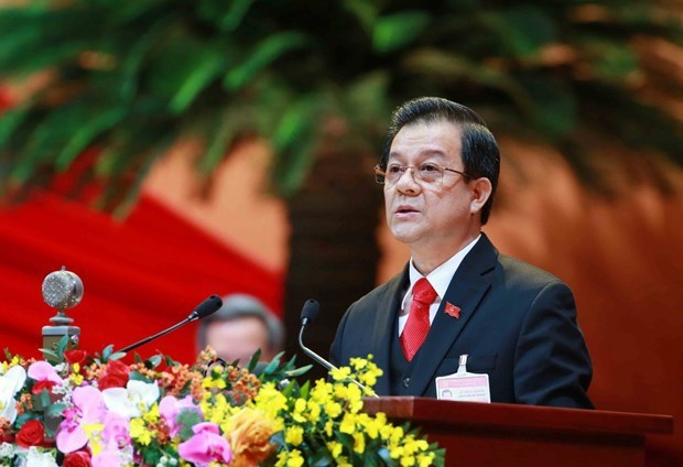 Security, defence, court officials submit proposals to Party Congress hinh anh 3