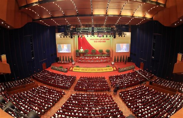 National development measures proposed at 13th National Party Congress hinh anh 1