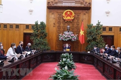 PM hosts heads of UN agencies in Vietnam