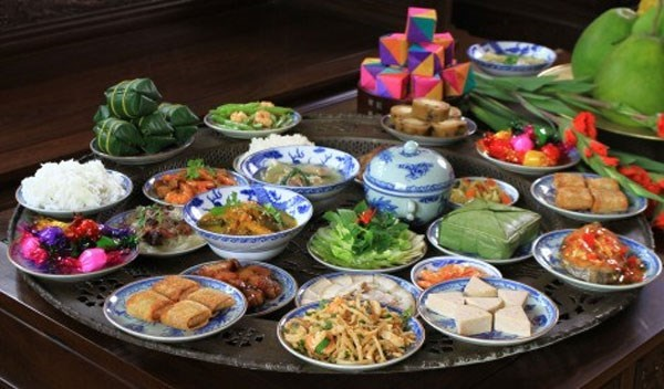 Traditional Tet food offerings to ancestors hinh anh 1