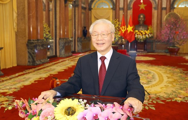 Promoting strength, will of nation: Top leader says in interview to VNA hinh anh 1