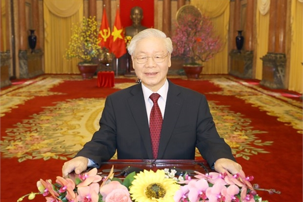 Top leader's greetings on the Year of the Buffalo
