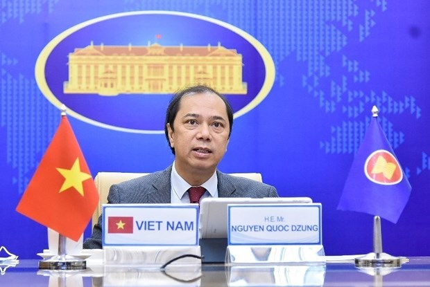ASEAN countries agree to spend 10.5 million USD buying COVID-19 vaccines hinh anh 1
