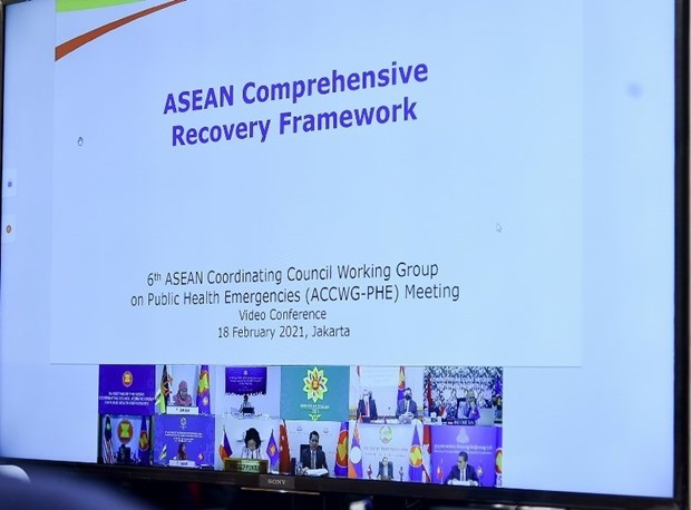 ASEAN countries agree to spend 10.5 million USD buying COVID-19 vaccines hinh anh 2