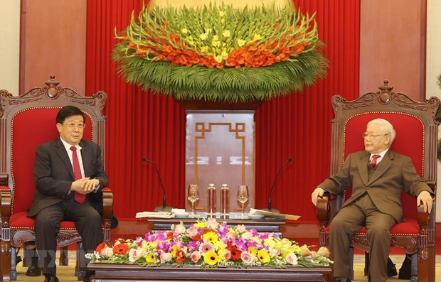 Top leader welcomes Chinese Minister of Public Security hinh anh 1