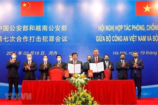 Vietnamese, Chinese public security ministries bolster anti-crime collaboration