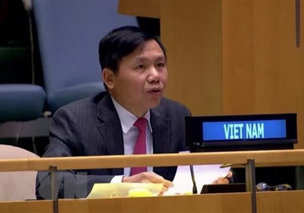 Vietnam urges int'l community to work with ASEAN in Myanmar issue hinh anh 1