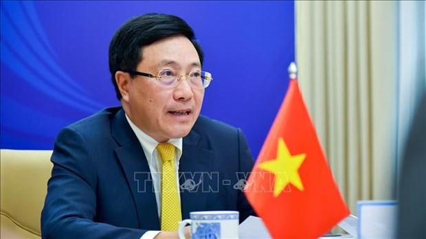 Informal ASEAN Ministerial Meeting: Vietnam, ASEAN cooperate to drive back pandemic hinh anh 1
