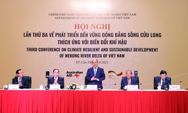 Third conference held to discuss sustainable development of Mekong Delta hinh anh 1