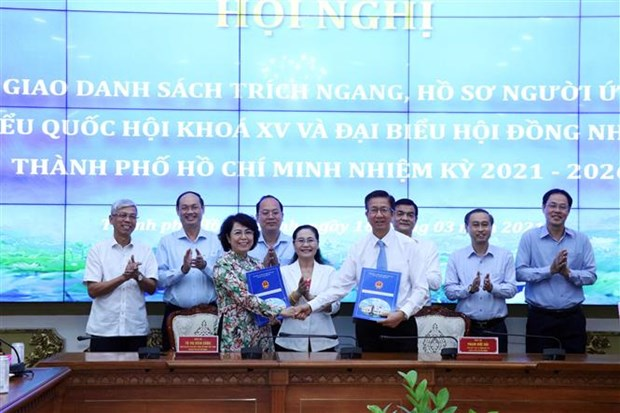 15th National Assembly election: 16 self-nominated candidates in HCM City hinh anh 1