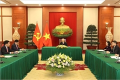 Vietnam views Japan as strategic partner of leading importance: Top leader