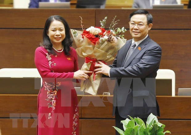 Vo Thi Anh Xuan elected Vice State President of Vietnam hinh anh 1