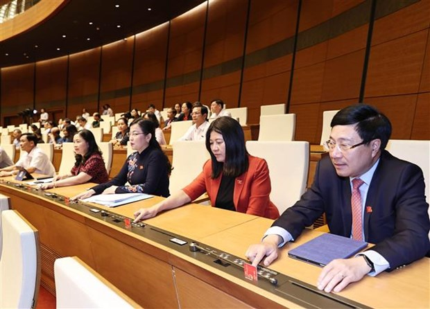 PM presents nominations for new Cabinet members to NA hinh anh 1