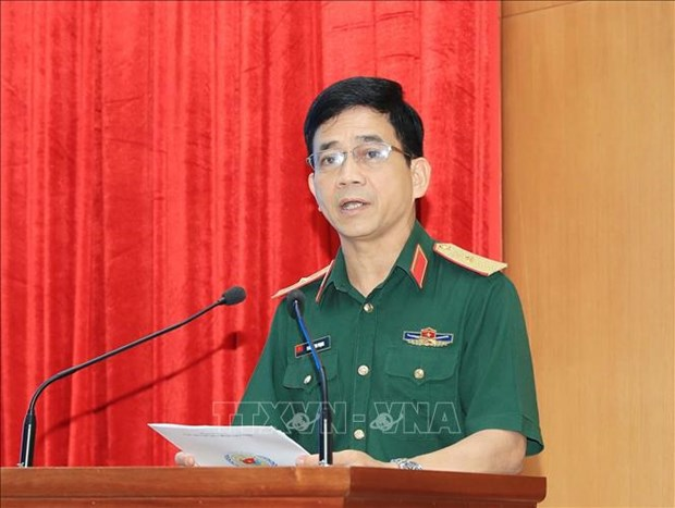 Vietnam helps maintain sustainable global peace: Officer hinh anh 1