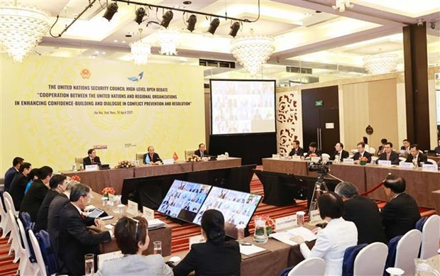 Vietnamese President chairs UNSC's high-level open debate hinh anh 2