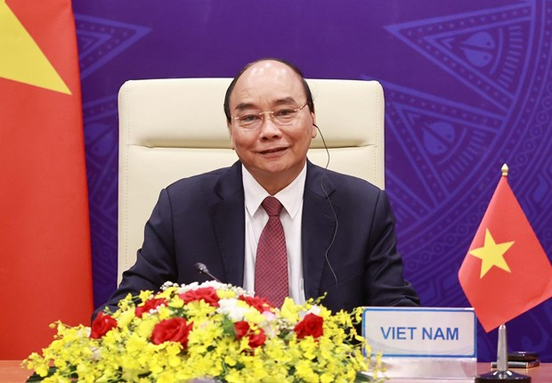 President attends opening ceremony of Leaders Summit on Climate hinh anh 1