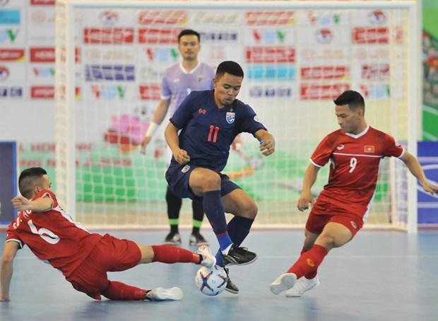 Vietnam to join 2021 Futsal World Cup playoffs hinh anh 1