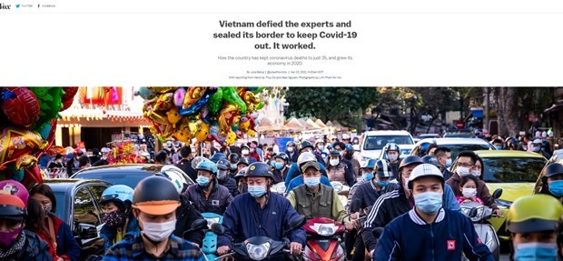 US newspaper lauds Vietnam's drastic approach to COVID-19 hinh anh 1