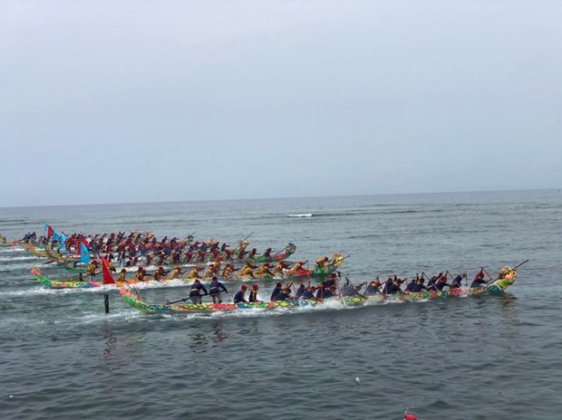Ly Son island district's boat racing festival becomes national heritage hinh anh 1