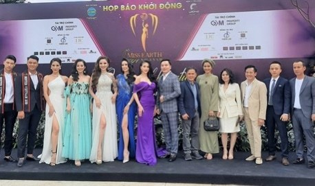 First Miss Earth Vietnam launched hinh anh 1