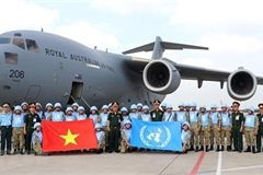Vietnam, Australia cooperate in UN peacekeeping mission in South Sudan