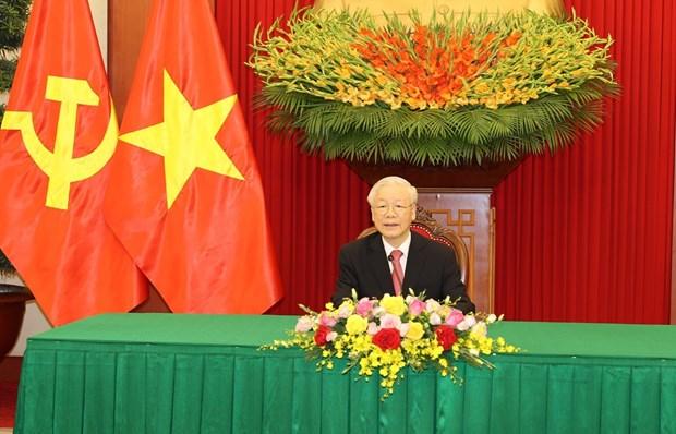 Vietnam always treasures special ties with Cuba: Party chief hinh anh 1