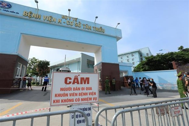 National Cancer Hospital put under lockdown, more infections detected hinh anh 1