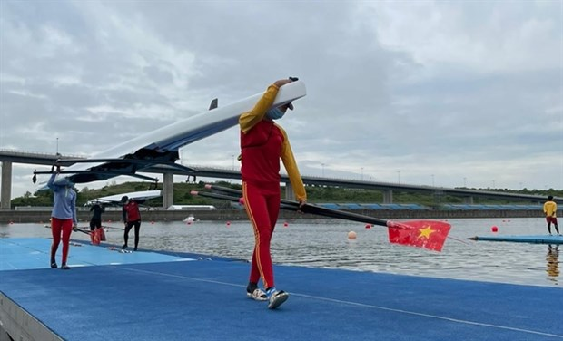 Vietnam secures seventh Olympic slot in rowing hinh anh 1