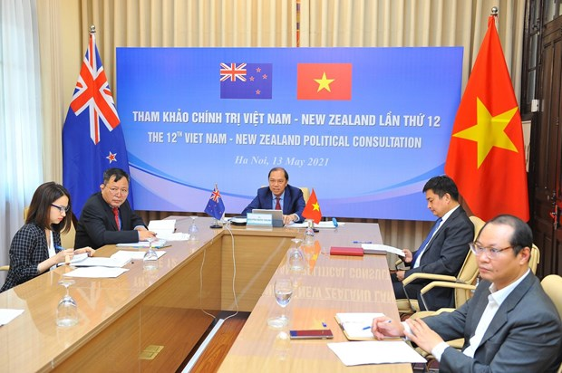 Vietnam, New Zealand hold 12th political consultation hinh anh 1