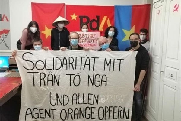 Swiss Party of Labour voices solidarity with Vietnamese AO victims