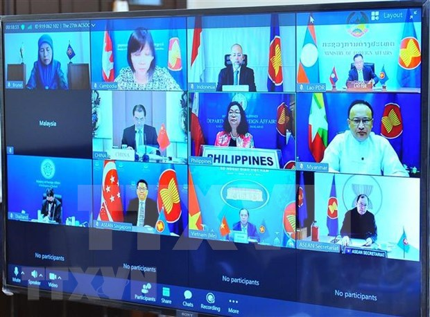 Vietnam proposes ASEAN, China prioritise coordination in COVID-19 fight hinh anh 2
