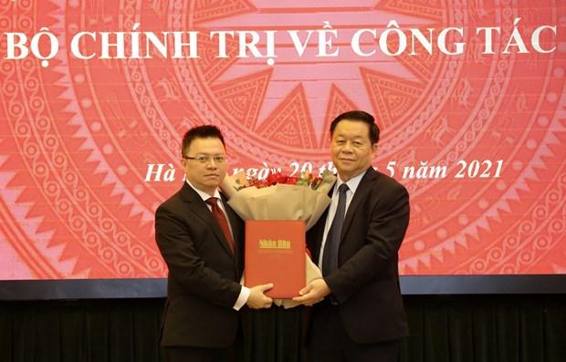 Nhan Dan Newspaper has new Editor-in-Chief hinh anh 1