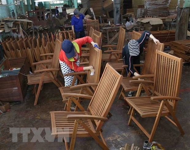 Made-in-Vietnam wooden products conquer US market hinh anh 1