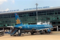 Tan Son Nhat airport stops receiving passengers from abroad