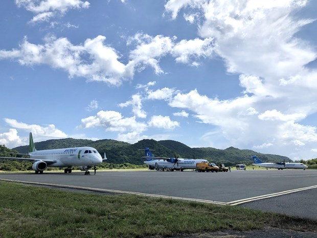 New COVID-19 outbreak puts a halt to more domestic flights hinh anh 1