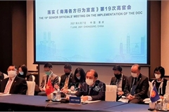 Vietnam calls for serious implementation of DOC at ASEAN-China SOM